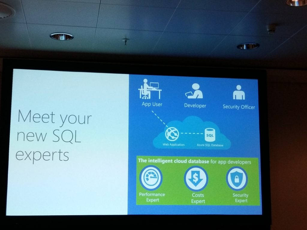 Microsoft Azure Cloud meet your new SQL experts