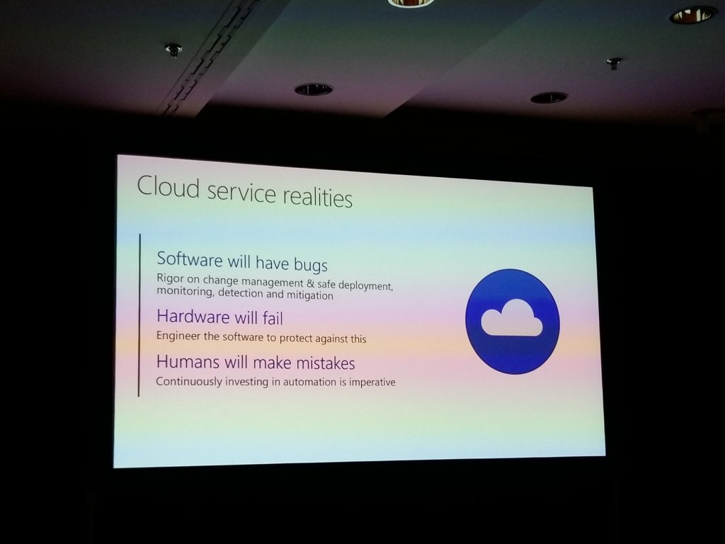 Microsoft Azure Cloud service reality