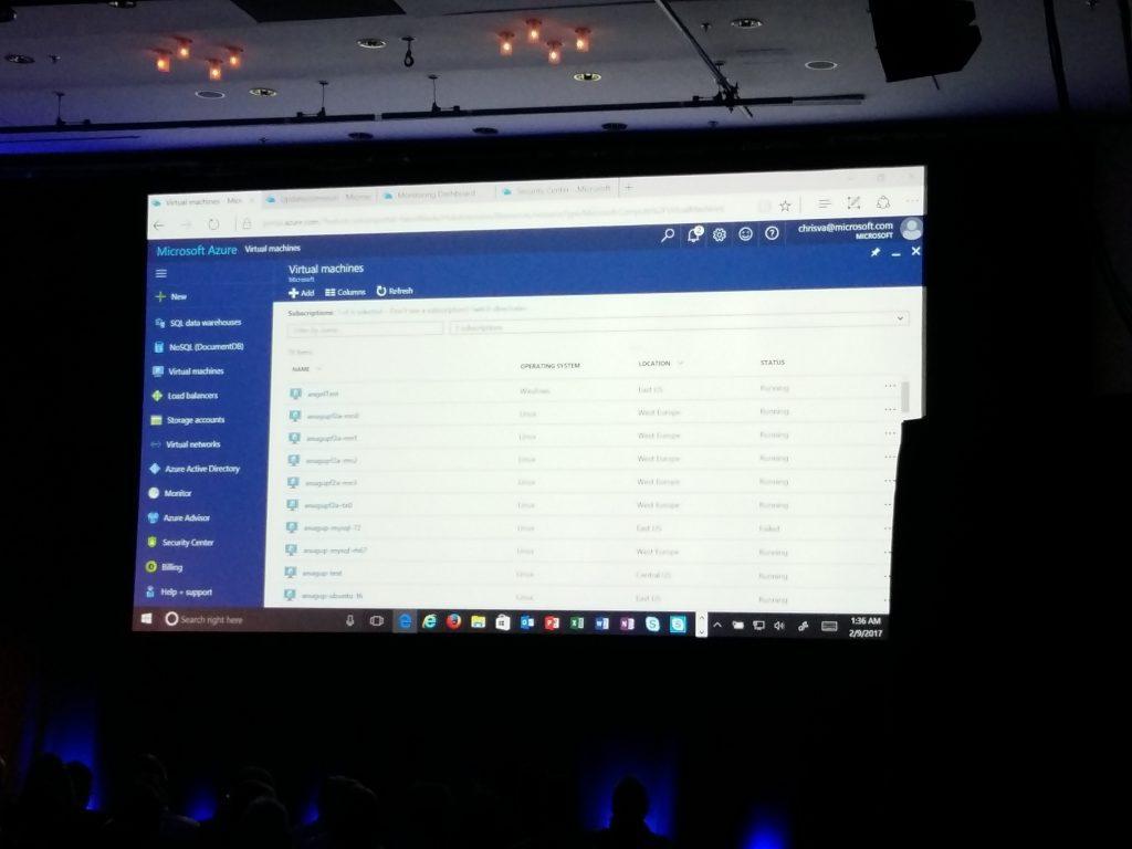 Microsoft Azure Cloud portal